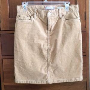 Courderoy skirt
